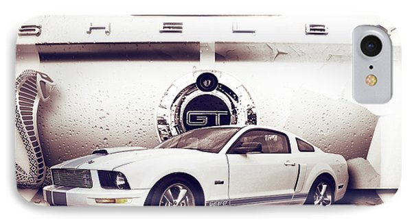 Ford Mustang Shelby Gt  IPhone Case