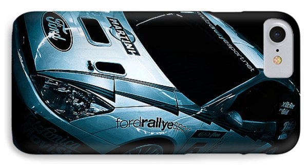 Ford Rally Car IPhone Case by Martin Newman