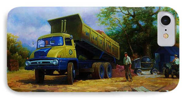 Ford Thames Trader Phone Case by Mike  Jeffries