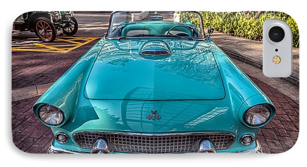 Ford Thunderbird  IPhone Case by Adrian Evans