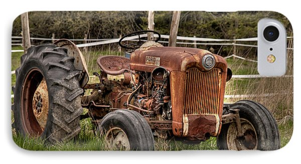 Ford Tractor Phone Case by Alana Ranney