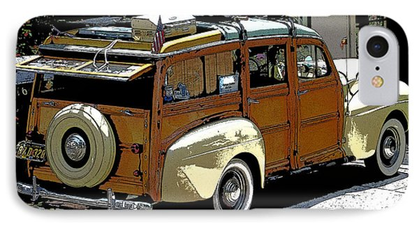 Ford Woodie IPhone Case