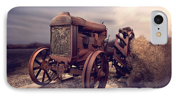 Fordson F Tractor IPhone Case by Yo Pedro