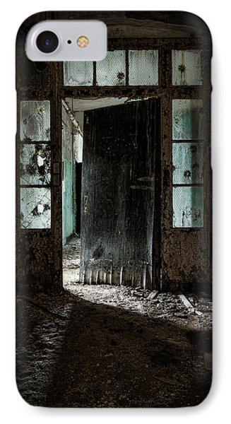 Foreboding Doorway Phone Case by Gary Heller