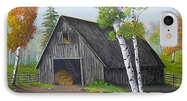 Forest Barn IPhone Case by Sheri Keith