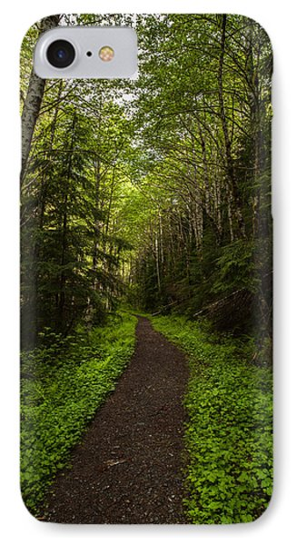 Forest Beckons Phone Case by Mike Reid