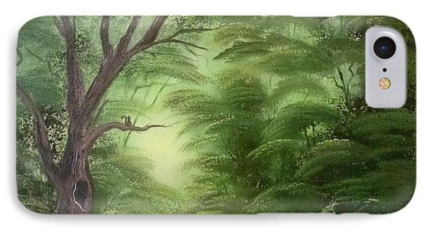 Forest Edge Phone Case by Lynn Lawrence