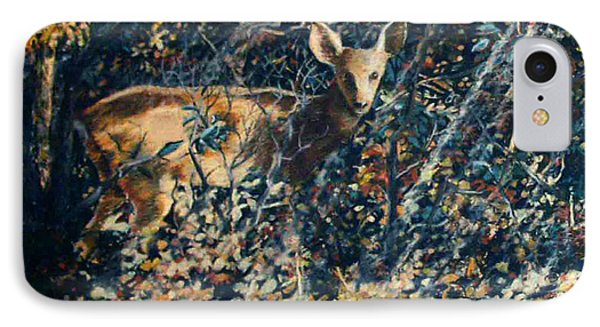 Forest Fawn Phone Case by Dan Terry
