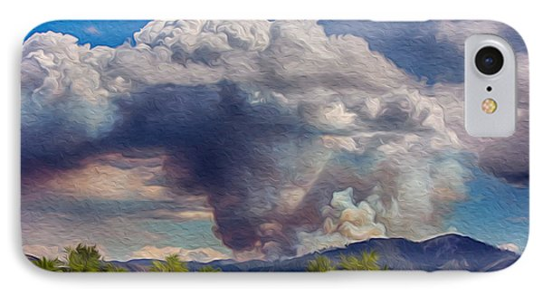 Forest Fire South Of Twisp Phone Case by Omaste Witkowski