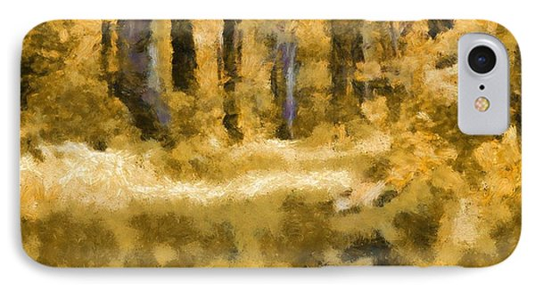Forest Floor In Autumn IPhone Case by Dan Sproul