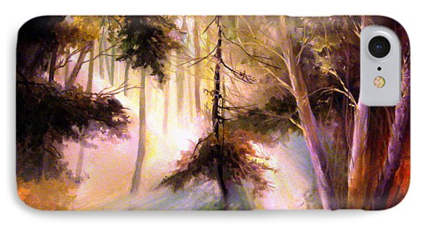 Forest Forest Forest IPhone Case by Mikhail Savchenko