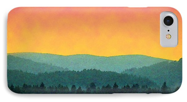 Forest Glow IPhone Case by Timothy Bulone