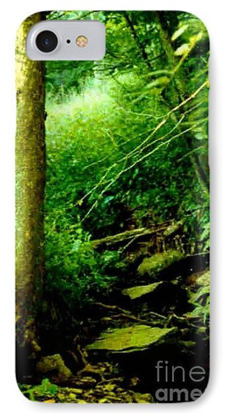 IPhone Case featuring the photograph Forest Green by Michael Hoard