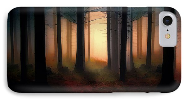Forest Light IPhone Case by Shanina Conway