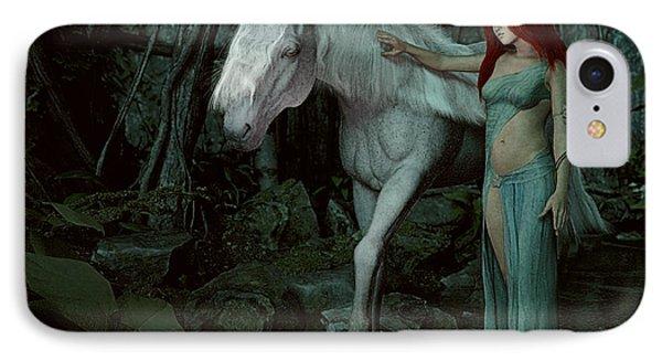 Forest Of Enchantments Phone Case by Maynard Ellis