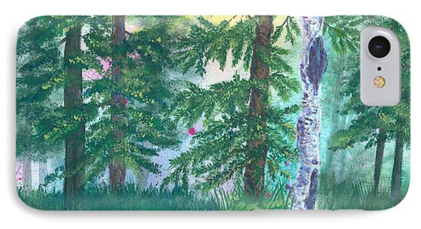 Forest Of Memories IPhone Case by Denise Hoag