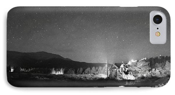 Forest Of Stars Above The Chapel On The Rock Bw Phone Case by James BO  Insogna