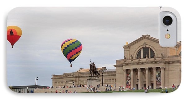 Forest Park Balloon Race IPhone Case