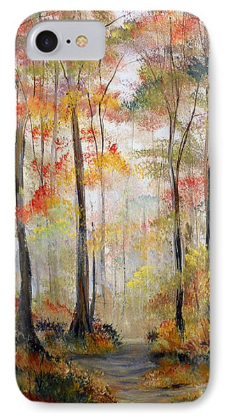 Forest Path IPhone Case by Dorothy Maier