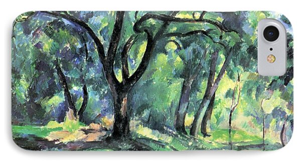 Forest IPhone Case by Paul Cezanne
