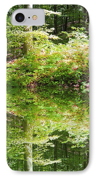 IPhone Case featuring the photograph Forest Reflections by John Stuart Webbstock