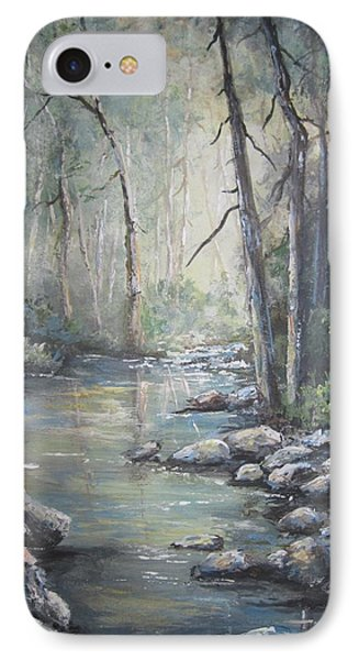 Forest Stream IPhone Case by Megan Walsh
