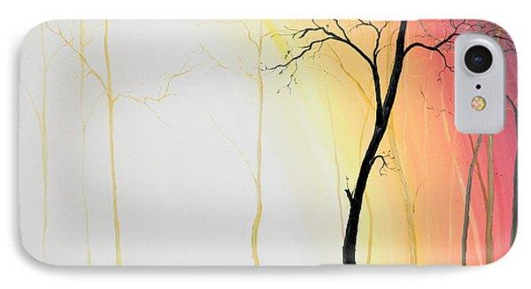 Forest Sunset IPhone Case by Denisa Laura Doltu
