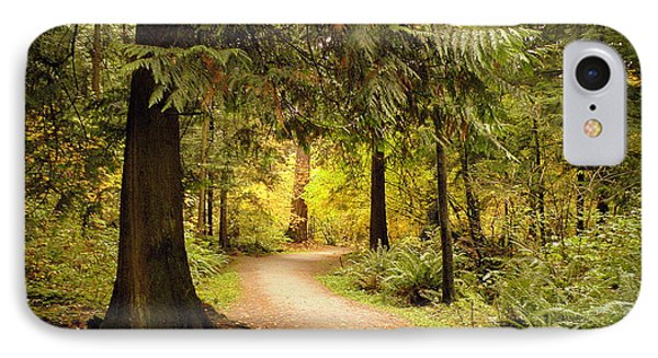 Forest Trail IPhone Case by Brian Chase
