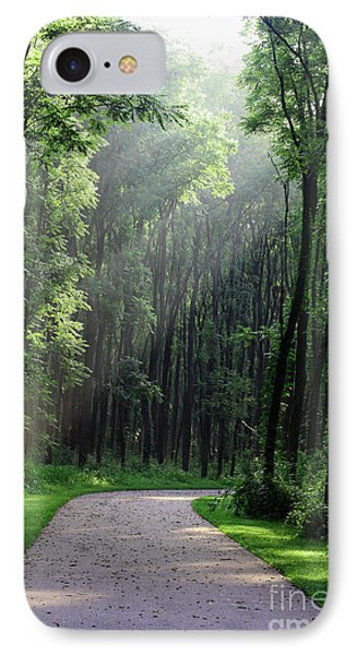 IPhone Case featuring the photograph Forest Walk by Anita Oakley