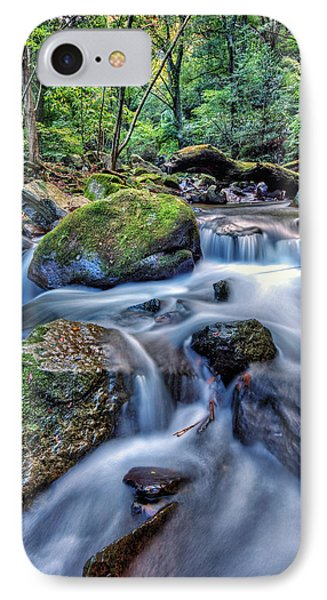 IPhone Case featuring the photograph Forest Waterfall by John Swartz