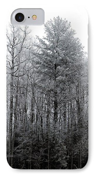 IPhone Case featuring the photograph Forest With Freezing Fog by Daniel Reed