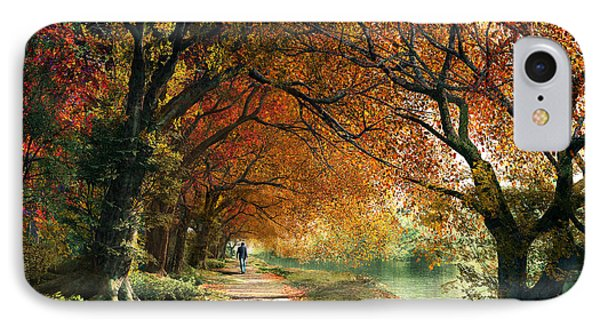 Forever Autumn IPhone Case by Dominic Davison