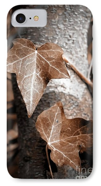IPhone Case featuring the photograph Forever Entwined by Ellen Cotton