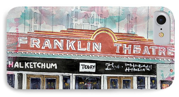 Forever Franklin IPhone Case