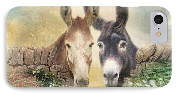 Forever Friends IPhone Case by Trudi Simmonds