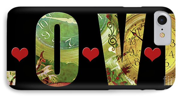 Forever Love IPhone Case by Claudia Ellis