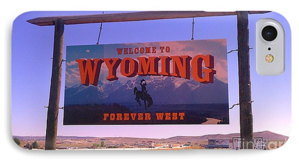 Forever West IPhone Case by Chris Tarpening