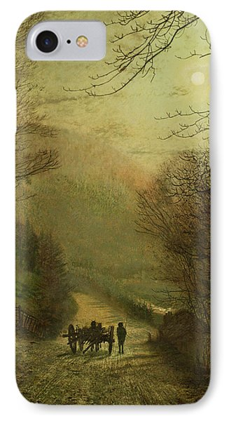 Forge Valley, Scarborough IPhone Case by John Atkinson Grimshaw