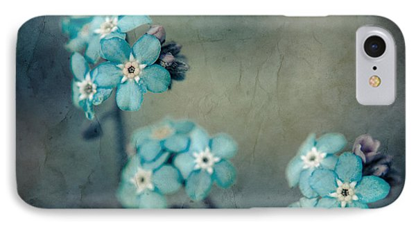 Forget Me Not 01 - S22dt06 IPhone Case by Variance Collections