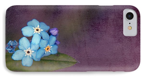 Forget Me Not 02 - S0304bt02b Phone Case by Variance Collections