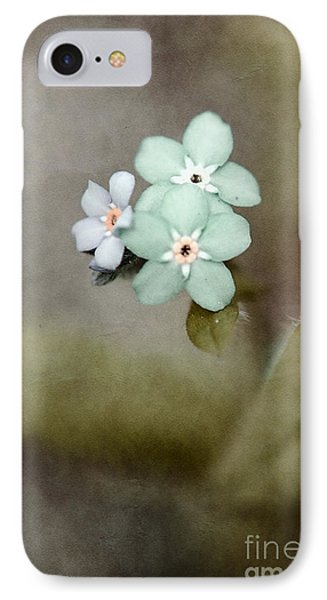 Forget Me Not 03 - S07bt07 Phone Case by Variance Collections