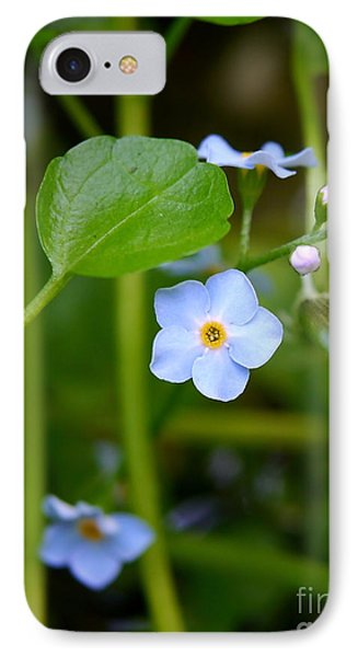 Forget Me Not Phone Case by John Chatterley