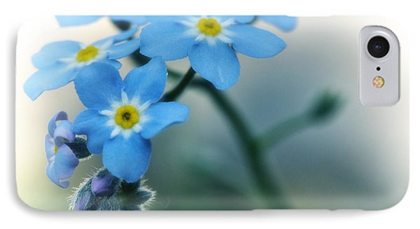 Forget Me Not IPhone Case by Simona Ghidini