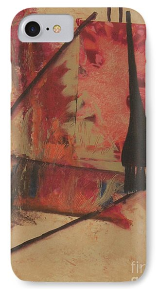 IPhone Case featuring the painting Forgive My Tears by Mini Arora