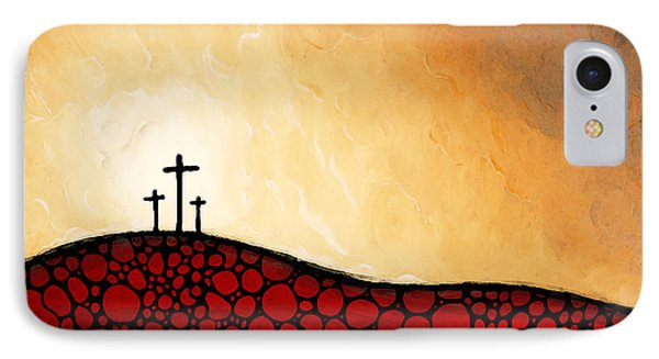 Forgiven - Christian Art By Sharon Cummings IPhone Case by Sharon Cummings