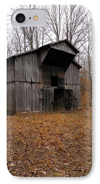 IPhone Case featuring the photograph Forgotten Barn by Nick Kirby