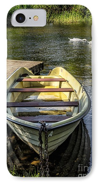 Forgotten Boat IPhone Case by Adrian Evans