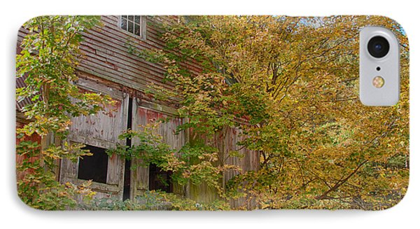 IPhone Case featuring the photograph Forgotten But Not Gone by Jeff Folger