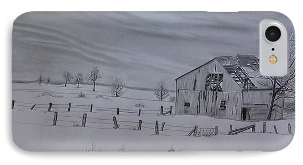 Forgotten In The Snow IPhone Case by Tony Clark