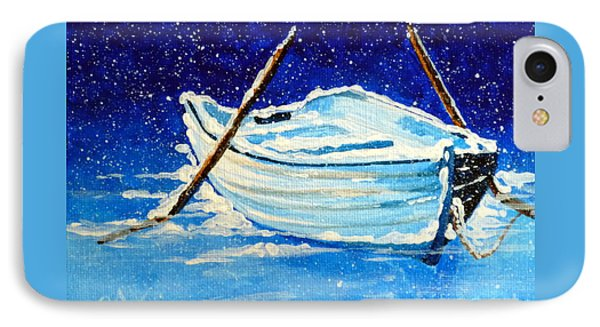 Forgotten Rowboat IPhone Case by Jackie Carpenter